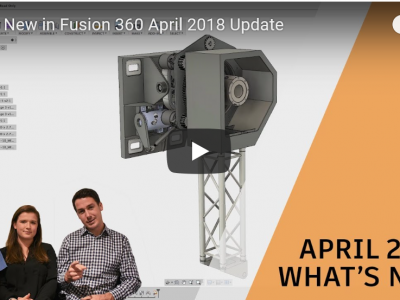 Update Fusion 360 April 2018