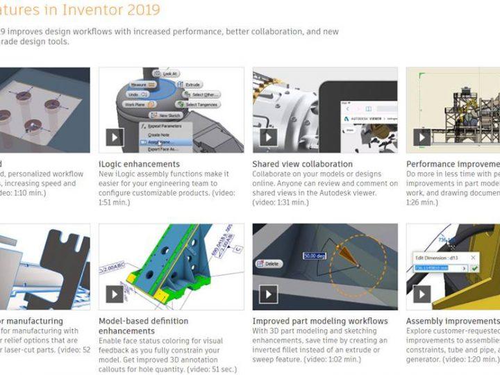 Fitur Inventor 2019